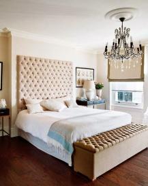 Bedframes enhance any bedroom that falls short of displayed art.