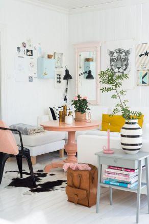 A Norwegian inspired living room.