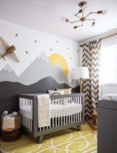 An energetic and eclectic nursery.