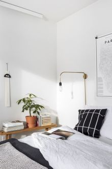 Where minimalism and cozy meet.