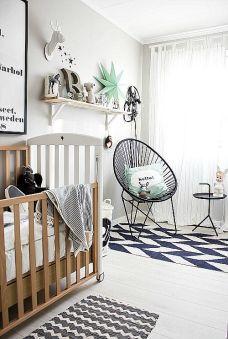 A modern nursery.