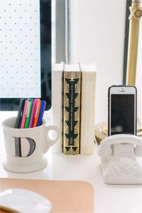 Desk accessories.