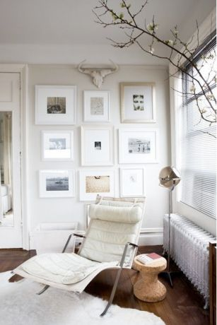 A charming gallery corner.