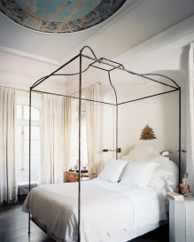Add structure to any bedroom with bed posts.