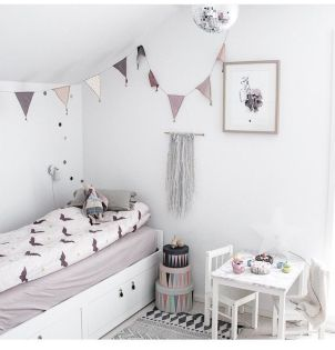 Soft tones for this sweet girl's bedroom.