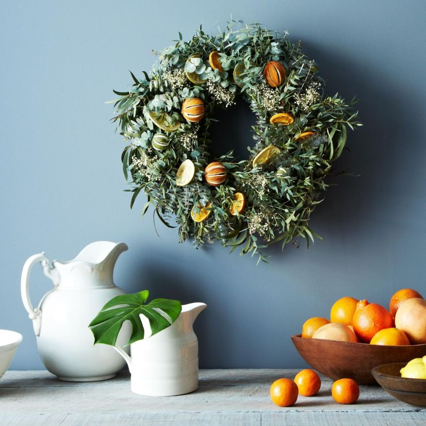 DIY Citrus Wreath2