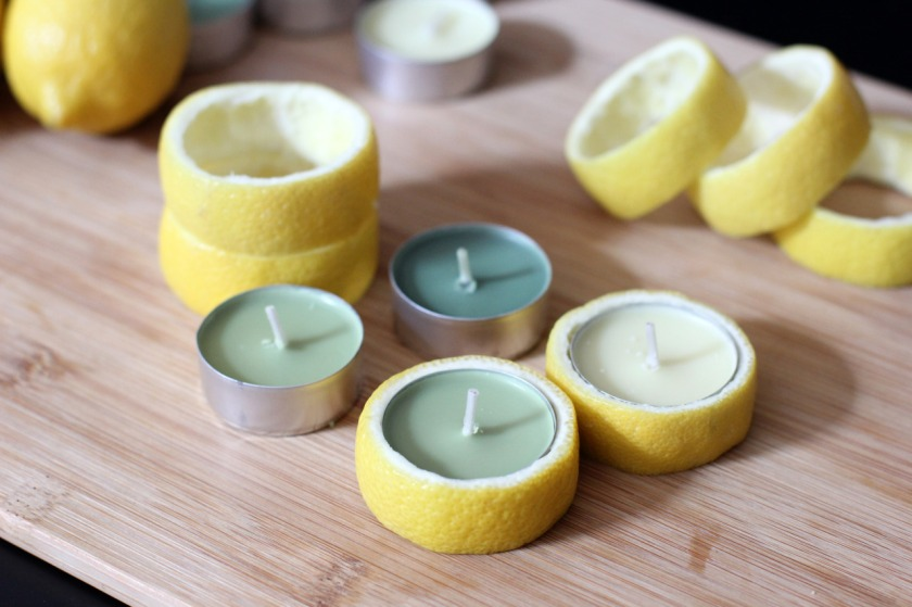 DIY Lemon Candle 4