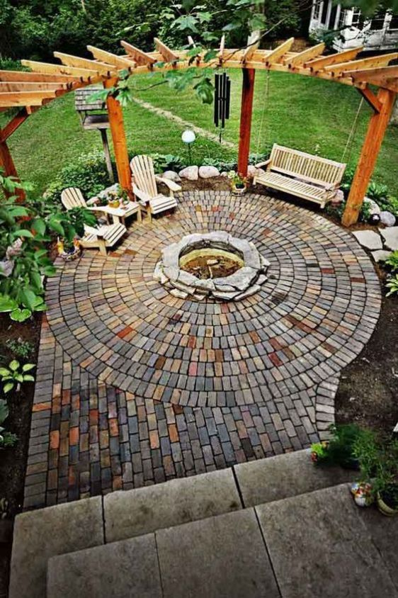 DIY Outdoor Firepit1