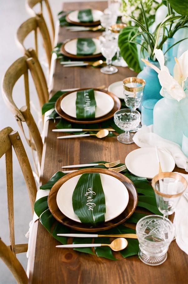 tropical-leaves-and-sea-glass-wedding-shoot-37-600x905