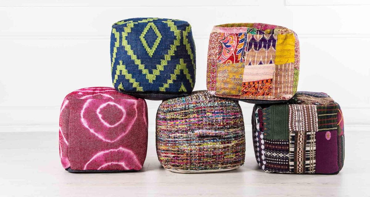 5 Ways to Use Poufs!