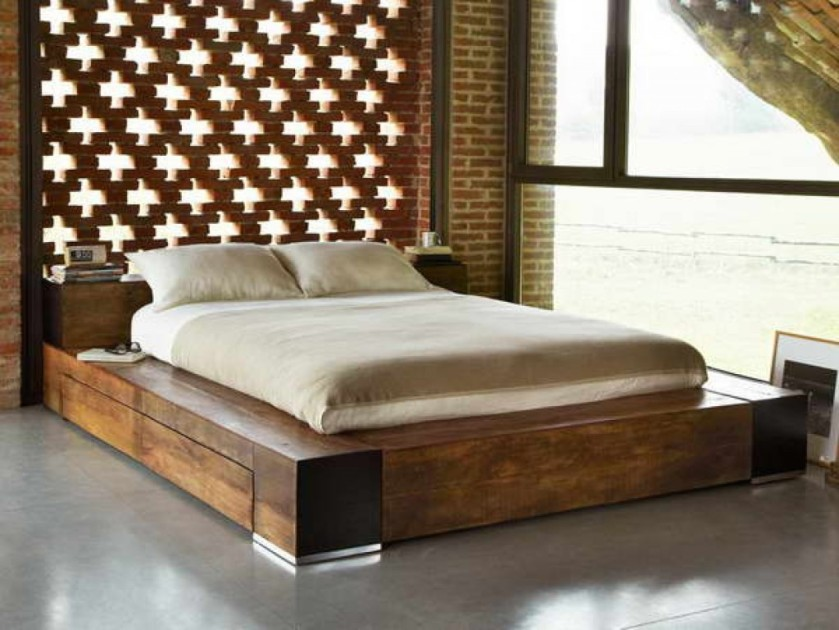 bed-sizes-king-size-bed-dimensions-reclaimed-wood-bed-for-classic-bedroom-theme-decorating-ideas-of-solid-wooden-frame-furniture-low-profile-beds-on-gray-concrete-floors-1024x768