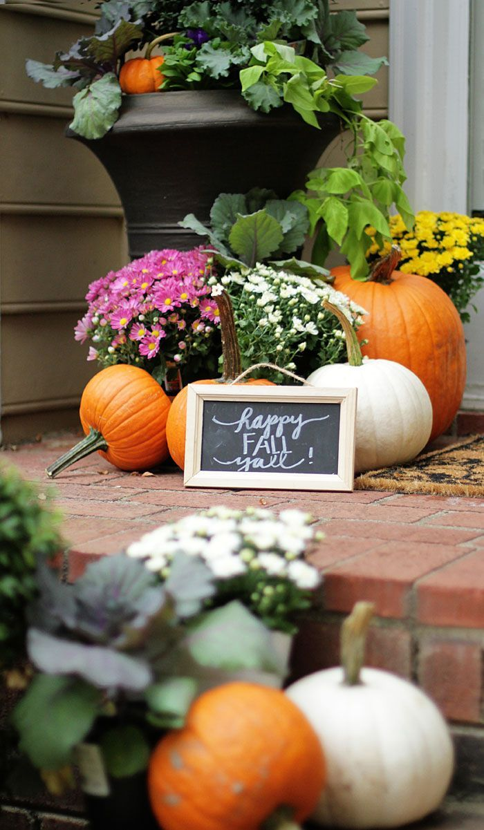 Tips for your Fall Entryway!