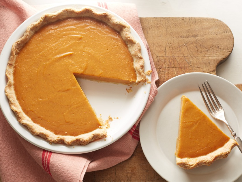 Food Network Kitchen's Vegan Pumpkin Pie For Vegan and Vegetarian Thanksgiving as seen on Food Network