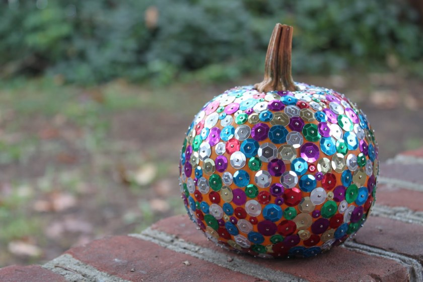 sequin-pumpkin